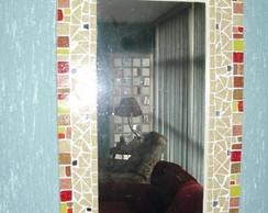 moldura de espelho Inspira��o Colorida