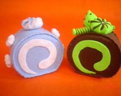 Cupcakes em Feltro - Docinhos