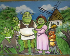 Painel Shrek