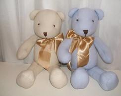 ursinhos em tecido