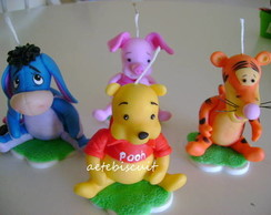 Velas da turma do Pooh