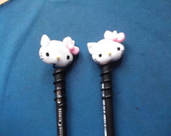 ponteira de l�pis da hello kitty