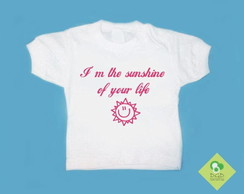 T-Shirt Beb� e Infantil THE SUNSHINE