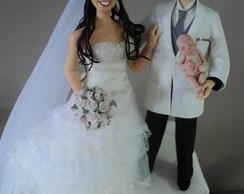 Noivinhos Luciana e Dr. Wagner