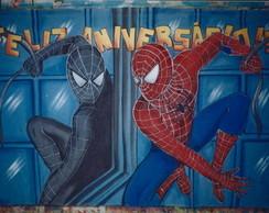 Painel Homem Aranha