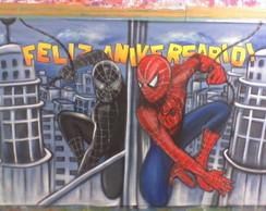 Painel Homem-Aranha Novo