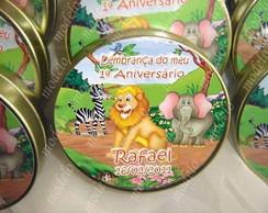 Lembran�a para festa - Tema safari