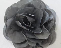 flor tafet� cinza