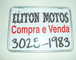 Placa �liton Motos 1