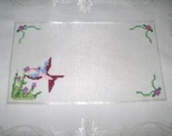 Toalha de bandeja Beija-flor