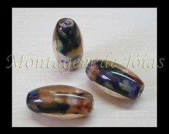 MURN-22 - Murano Mesclado 10x19mm (2un)