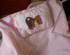 Cobertor + travesseiro infantil