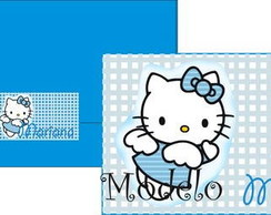 Convite Hello Kitty Fada