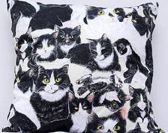 Capa de almofada gatinhos [cod16]