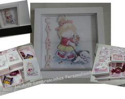 Kit - quadro maternidade + lembrancinhas