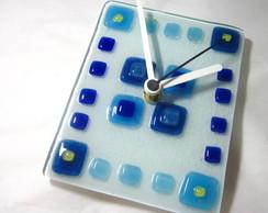 Rel�gio de Vidro / Glass Clock
