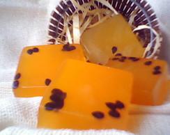 Mini sabonete de maracuj� ( 35 grs cada)