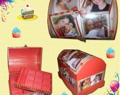 Ba� com fotos para bijuterias Nancy