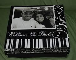 Caixa de madeira Personalizada com fotos