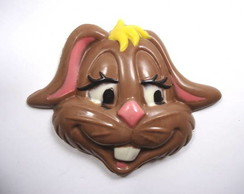 Cara de coelha feliz