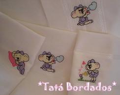 Kit Baby Ber�o Lilica - Branco/Lil�s