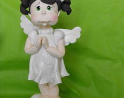 Topo de bolo Anjinha para Batizado