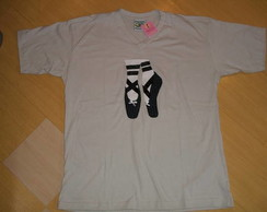 CAMISETA ADULTO BALLET