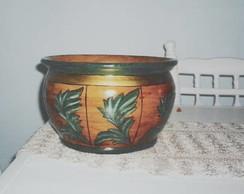 Cachepot em ceramica