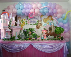 DECORA��O BARBIE PRINCESA DA ILHA