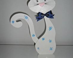 freio de porta gato branco (vendido)