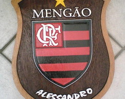 """Escudo de time """"Flamengo"""""""