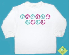 T-Shirt Beb� e Infantil LOVELY GIRL