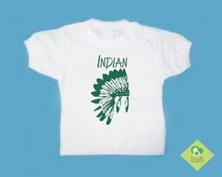 T-Shirt Beb� e Infantil INDIAN