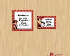 Adesivo e tag (cart�o) para lembrancinha