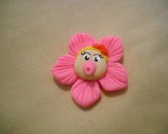 Lembran�a nascimento - �m� menina flor