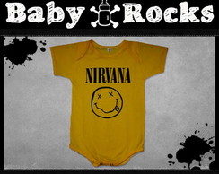 Body ou Camisetinha Nirvana Face