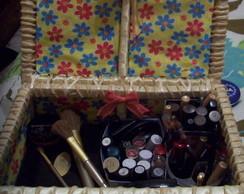Caixa Porta-maquiagem Luxo Interiorano