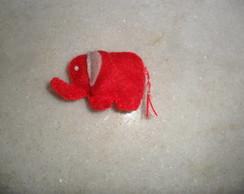 Mini Elefante feltro lembrancinha
