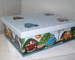 caixa pq para brinquedos/carrinhos