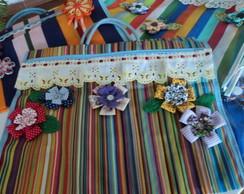 Sacola de feira decorada