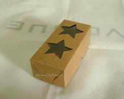 Caixa Papel Kraft. 2 Estrelas Pct C/ 20