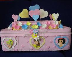 Caixa de Bolo Princesas modelo II
