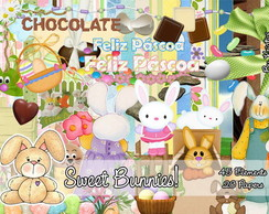 Kit P�scoa - Sweet Bunnies!