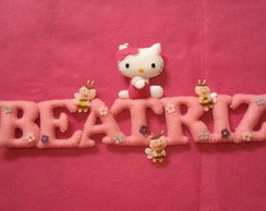 Enfeite de Porta Hello Kitty