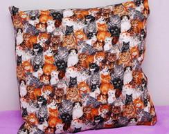 Capa de almofada gatinhos [cod20]