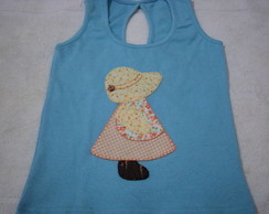 Camiseta Patch Aplique Infantil