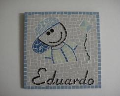 Quadrinho menino com pipa -  Eduardo