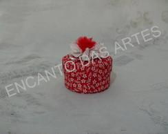 Mini caixa revestida  tecido