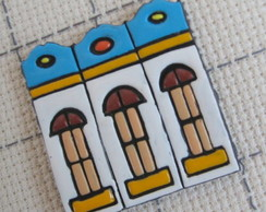 Broche Casinhas Coloniais 6