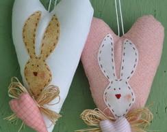 Projeto Cora��o com aplica��o de coelhos